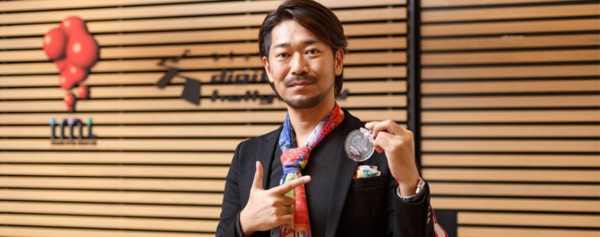 今年度Webグランプリ「Web人賞」受賞記念インタビュー! デジハリ福岡・高橋校長「人材教育こそ、究極のクリエイティブ」